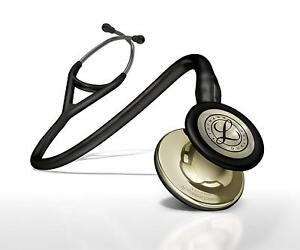 3m Littmann 6179 Cardiology 4 Stethoscope Black Stem And Head Piece 27