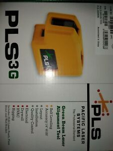 Pacific Laser Systems Pls 3g pls 60595n Three Point Green Self Leveling Laser