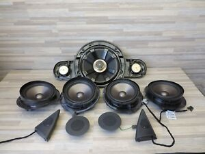 Oem Mercedes 2003 06 W211 E500 E55 E63 Amg Speaker Sub Set Of 9 R2