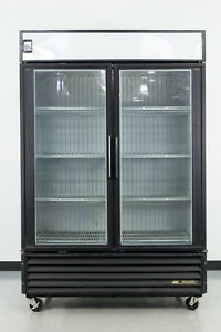 Used True Gdm 49f 2 Swing Glass Door Merchandiser Freezer