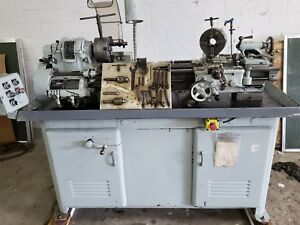 South Bend Lathe Heavy 10 54 Bed Hardways Coolant W tooling Taper Attachment