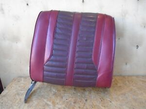1962 Oldsmobile Starfire Right Front Bucket Seat Back Upper Part Driver 62