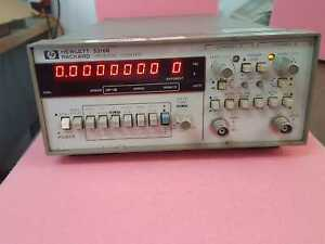 Hp Hewlett 5316b Digital Universal Frequency Counter