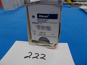 Alcon 8065149525 Microsurgical Instrument 25ga Soft Tip box Of 10 Exp 2021