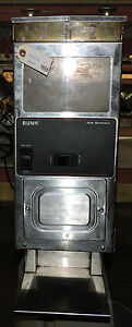 Bunn G9 2 Hd Portion Control Commercial Coffee Grinder W 2 Hoppers