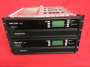Mrc Dar Microwave Radio Transmitter Receiver With Modem Cards Asi Smpte310