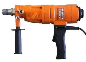 4 New 3 Speed Hand Held Core Drill With Case