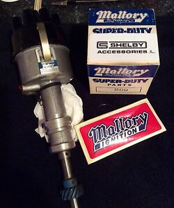 Nos Cs Shelby Mallory Dual point Distributor 351 Windsor Mach 1 Autosport 8425