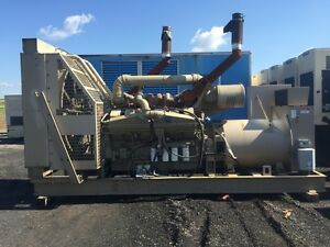 _900 Kw Cummins Onan Ktta 38 G9 Generator Set Only 88 Hours