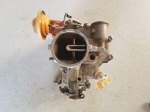 Rochester 1 Barrel Carburetor Carb 7023102 1960 S Chevrolet Corvair W Choke