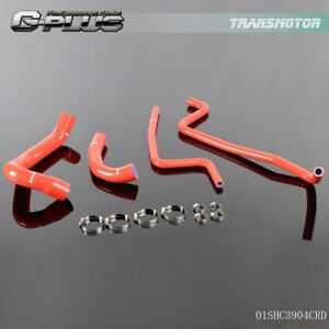 Gplus Silicone Radiator Heater Hose Kit For Jeep Wrangler Tj 4 0l 1997 2001 Red