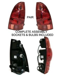New Pair Driver Passenger Rear Brake Tail Lights For 2005 2015 Toyota Tacoma