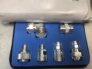 new Rf Connectors By Rf Industries Rfa 4013 6 Piece 7 16 Din Adapter Kit
