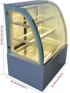 Refrigerated Cake Display Cabinet Commercial220v Bakery Pie Cooler Display Case