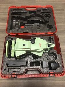 Leica Tcr 405 5 Total Station For Surveying