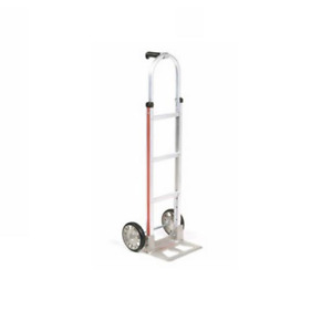 Magliner 52 Tall Aluminum Hand Truck With Mold On Rubber Wheels