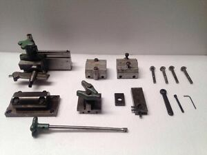 Ideal Industries 24 033b Midget Precision Grinder With Its Complete Accessories