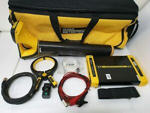 Vivax Metrotech Vlocpro2 Locator Vx204 1 Vx205 2 Pipe Cable Marker 5w