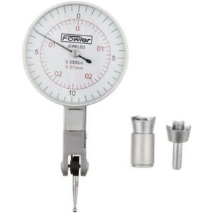 Hand Tools Fowler 52 560 060 Inch metric Dial Test Indicator Satin Chrome Range