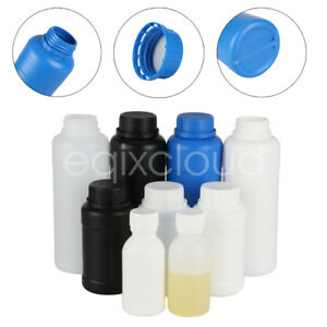 Hdpe Plastic Bottles Childproof Caps Lab Liquid Reagent bottle 100ml 300ml 500ml