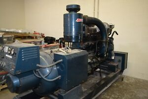 Kohler 150 Kw Diesel Generator 175r084 857 Hours Cummins Engine Nhrs6big