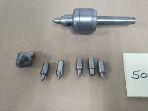 Z tools Mt2 Precision Interchangeable Live Center Set Morse Taper 2 For Lathe