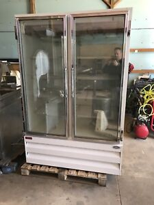 Howard Mccray Gf48lbm Glass 2 Door Reach In Ice Cream Freezer Frozen Food