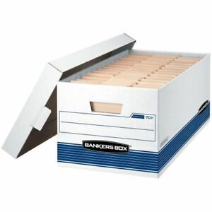Bankers Box Stor file Medium duty Storage Boxes With Lift off Lid Letter 12 701