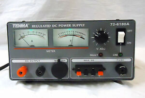 Tenma Dc Power Supply 72 6180a