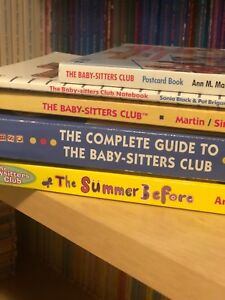 The Baby Sitters Club Summer Before Bsc Novel Complete Guide Postcard