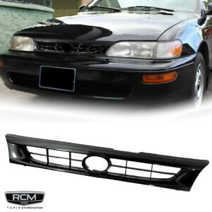 Fit For Toyota Corolla 93 97 Front Grill Black Grille Factory Style Jdm