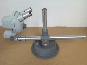 Bausch Lomb Stereozoom Series 5 Microscope 0 7x 3x W heavy Duty Boom Stand