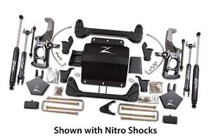 Zone Offroad 5 Inch Lift Kit 2013 Chevy 2500hd Pickup 4wd
