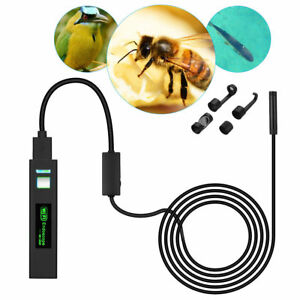 8led Wireless Endoscope Wifi Usb Borescope Inspection Hd 1200p Camera Waterproof
