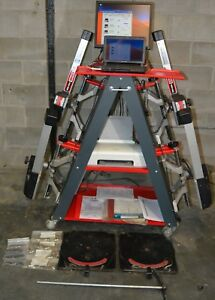 Cemb Dwa1000 Wheel Alignment Machine Lots Of Extras Minimal Use Excellent