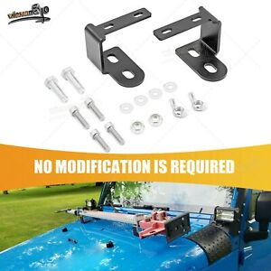 Hi Lift Jack For 07 17 Jeep Wrangler Jk Carrier Upper Hood Mount Bracket