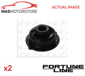 2x Fz9392 Fortune Line Front Control Arm Wishbone Bush Pair I New Oe Replacement