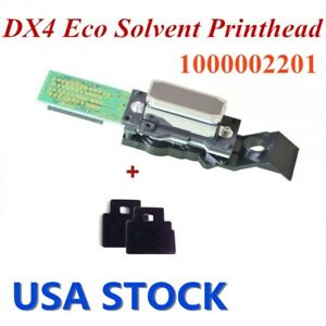 Roland Dx4 Eco Solvent Printhead With 2 Wiper Blades 1000002201 Usa Stock