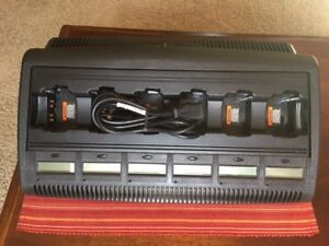Motorola Impres Multi unit Charger wpln4198a used