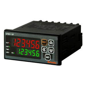 Autonics Ct6y 2p4 Programmable Timer Counter 2 Stage Preset 6 Digit W72 X H36 Mm