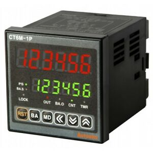Autonics Ct6m 2p4t Programmable Timer Counter 2 Stage Preset 6digit 72x72 Rs 485