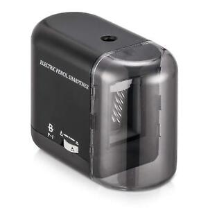New Boocosa Pencil Sharpener Heavy Duty Steel Blade Electric Pencils Sharpener