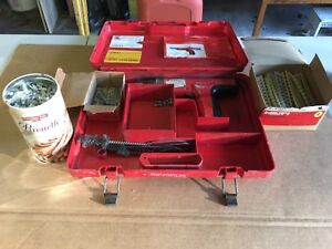 Hilti Gun Dx35 With Countless Pins And Shots Barely Used By One Man Shop Mint
