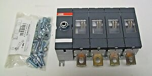 Abb Ot250e04 Switch Disconnector 250 Amp 4 Poles handle shaft Sold Separately