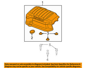 Gm Oem Engine Appearance Cover engine Cover 12633418