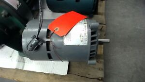 General Electric 5kc37fn54x 1 3 Hp Ac Motor 115 Volts 3450 Rpm Single Phase