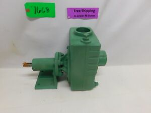 Dayton Teel Self Priming Centrifugal Pump 1p895 2 In Out Free Shipping