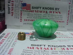 Nostalgic Vintage Style Shift Knob green Pearl U s Made