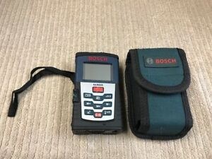 Bosch Glr225 Laser Distance Measurer With Soft Case Good Condition Ships Free
