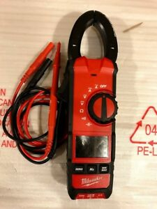 Milwaukee 2237 20 600 Amp Ac dc Digital Clamp Meter With Case Free Shipping